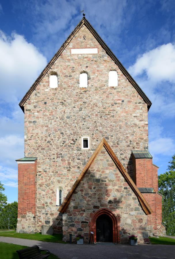 Chiesa di Gamla Upsala fotografia stock