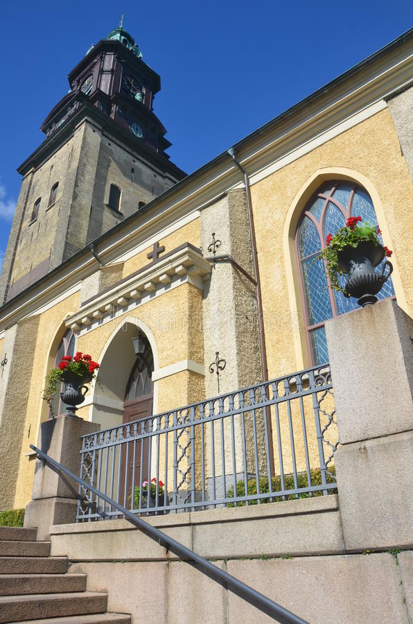 Chiesa di Gothenburg fotografia stock libera da diritti