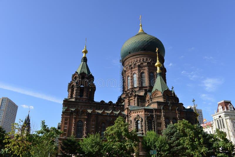 Chiesa di Hagia Sophia immagini stock