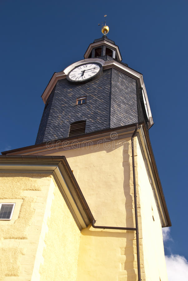 Chiesa di Ilmenau fotografia stock libera da diritti