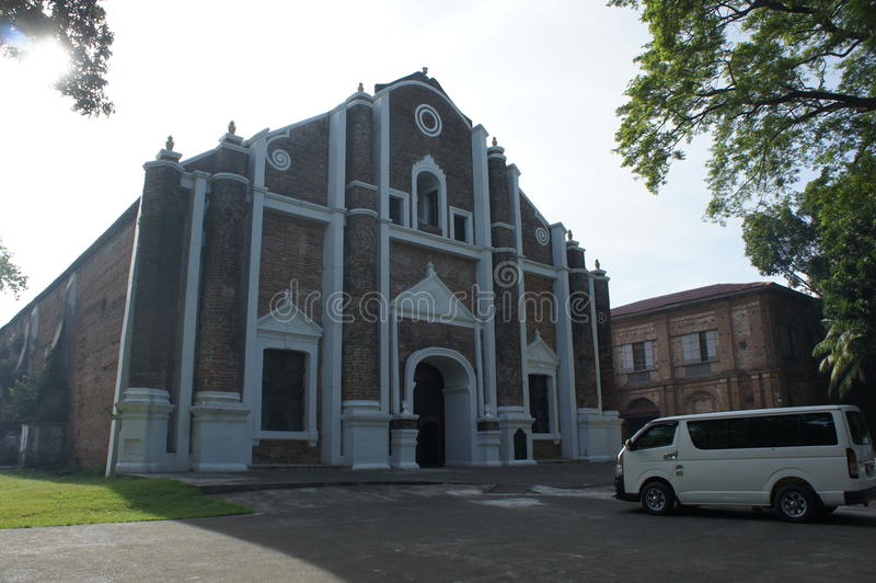 Chiesa di Ilocos immagine stock libera da diritti