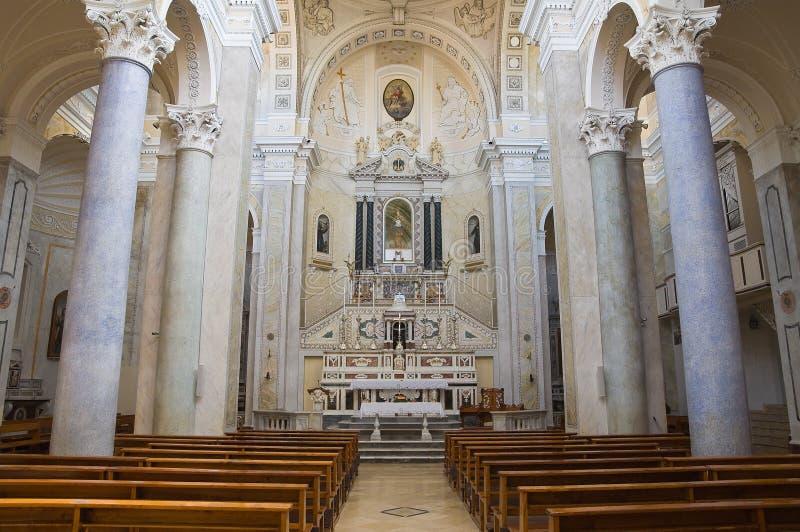Chiesa di Incoronata Minervino Murge La Puglia L'Italia fotografie stock