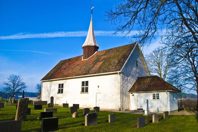 Chiesa di Ingedal fotografia stock