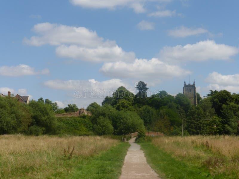 Chiesa di Kingsbury immagine stock libera da diritti