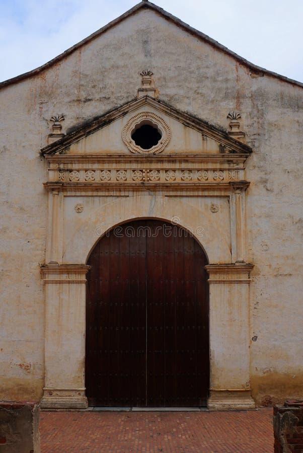 Chiesa di La Asuncion immagini stock