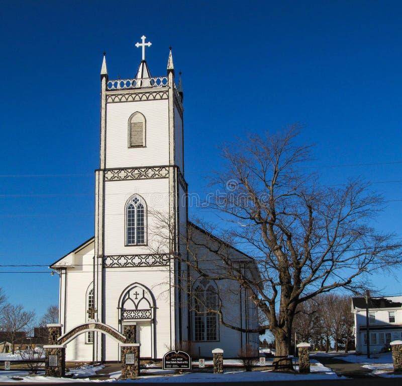 Download Chiesa di legno bianca fotografia stock. Immagine di bianco - 30827442