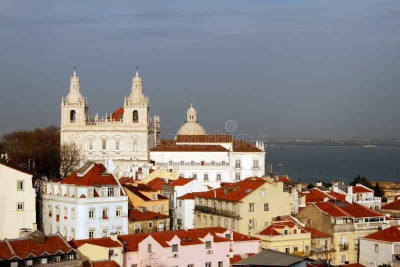Chiesa di Lisbona. immagini stock libere da diritti