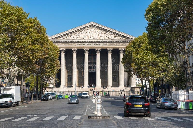 Chiesa di Madeleine della La a Parigi immagini stock libere da diritti