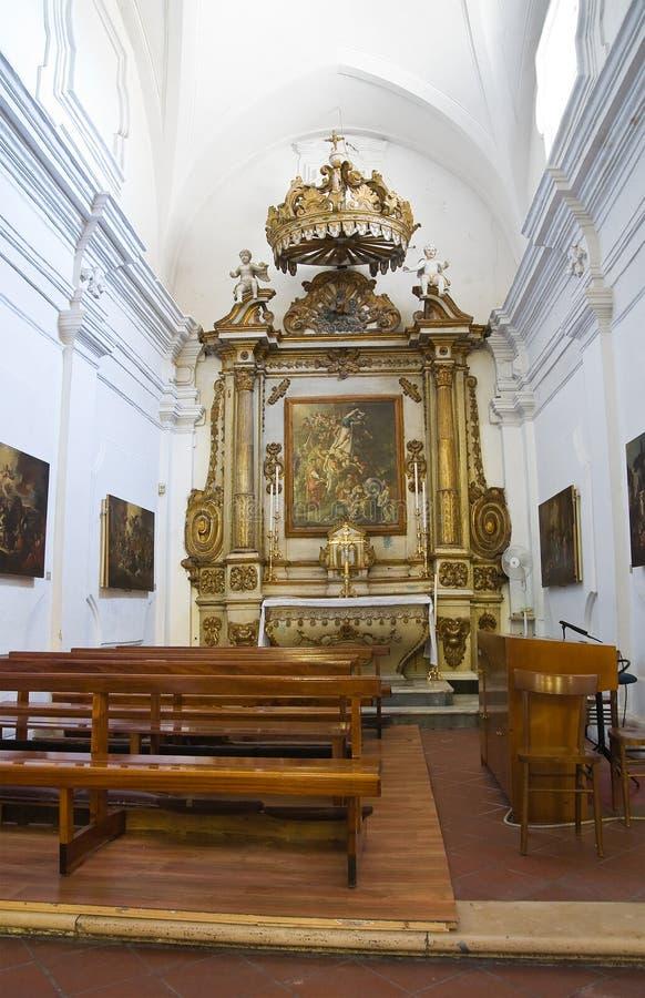 Chiesa di madre di Laterza La Puglia L'Italia fotografie stock libere da diritti