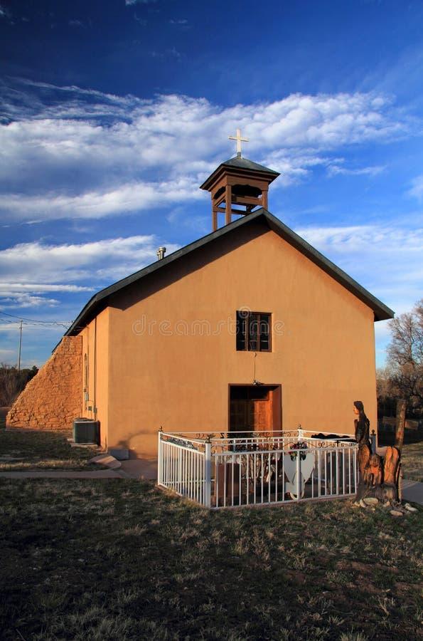 Chiesa di Manzano fotografia stock libera da diritti