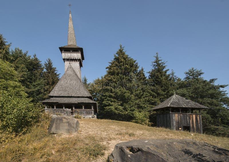 Chiesa di Maramures fotografia stock libera da diritti