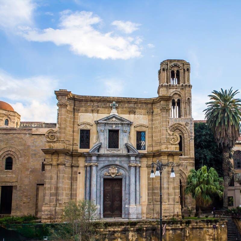 Chiesa di Martorana, a Palermo, l'Italia fotografia stock