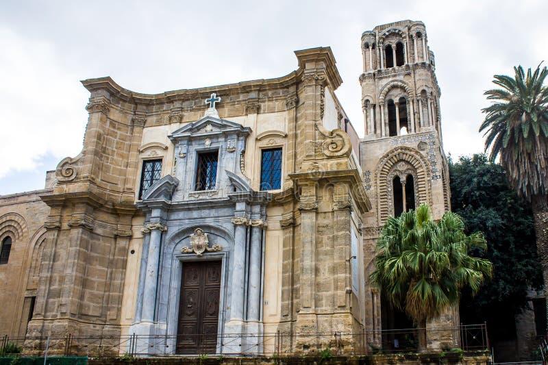 Chiesa di Martorana, a Palermo, l'Italia immagine stock