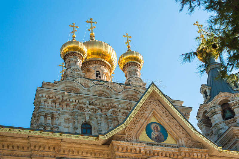 Chiesa di Mary Magdalene fotografie stock