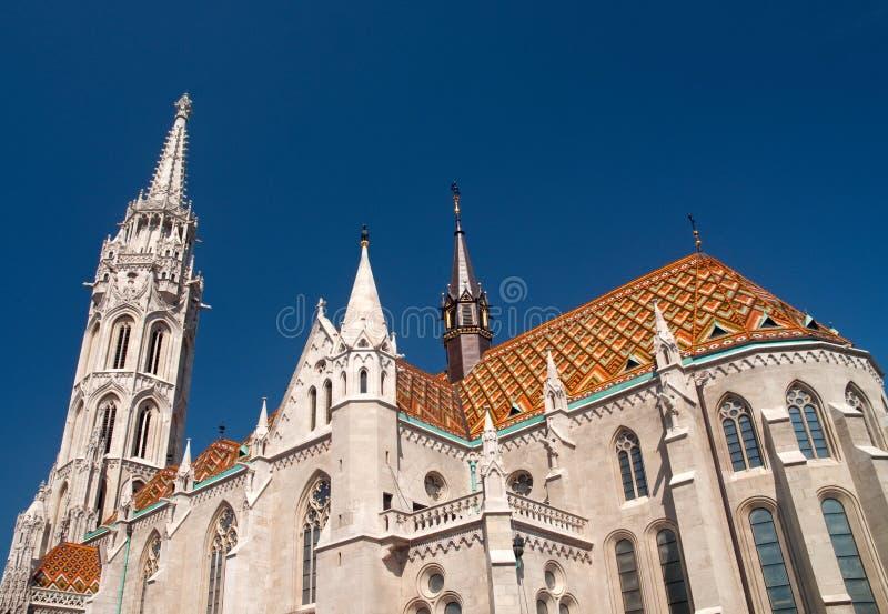Chiesa di Matthias fotografia stock