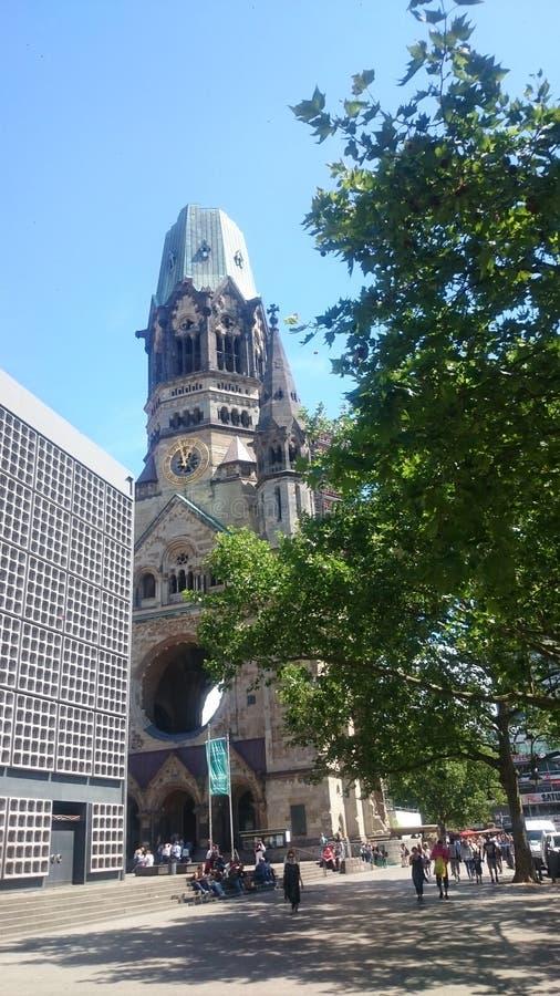 Chiesa di memoria a Berlino immagini stock libere da diritti
