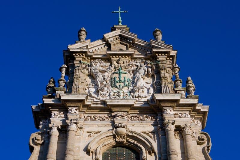 Chiesa di Michaels del san a Lovanio immagini stock
