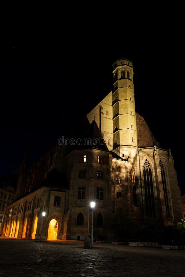 Chiesa di Minoritenkirche a Vienna, Austria fotografia stock libera da diritti