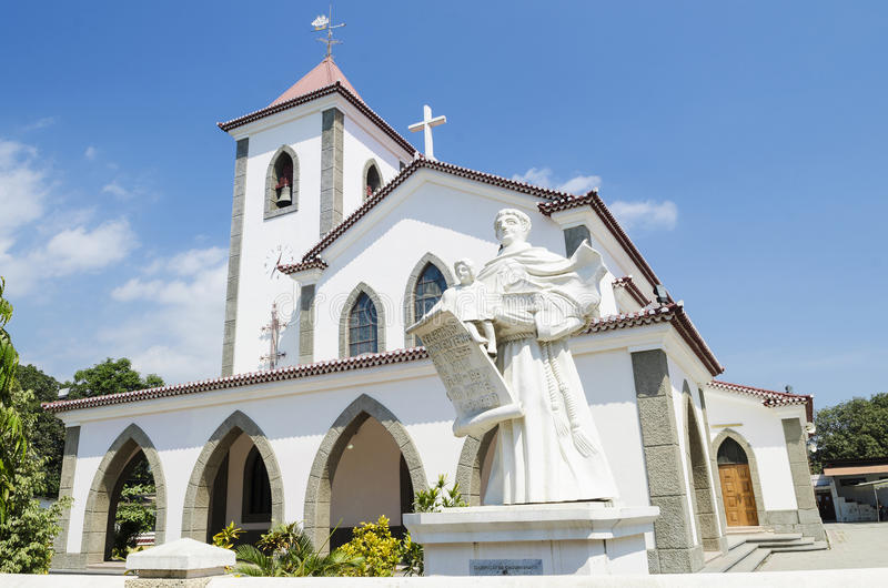 Chiesa di Motael a dili Timor Orientale immagini stock libere da diritti