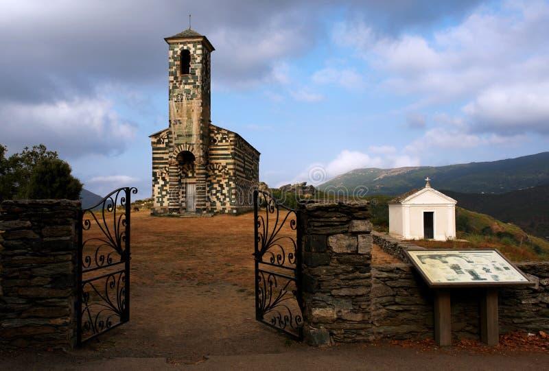 Chiesa di Murato immagine stock