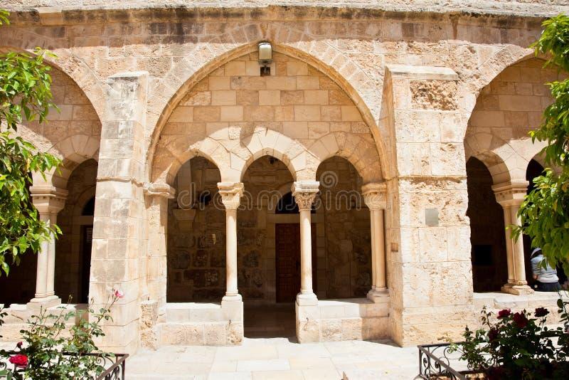 Chiesa di natività, Bethlehem. Il Palestine, Israele fotografia stock