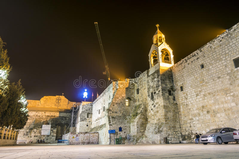 Chiesa di natività, Betlemme, autonomia palestinese, fotografia stock