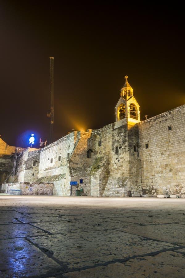 Chiesa di natività, Betlemme, autonomia palestinese, fotografia stock libera da diritti