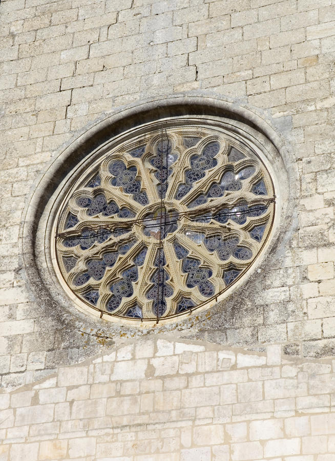 Chiesa di Niort fotografie stock libere da diritti