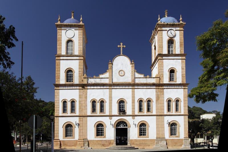 Chiesa di Nossa Senhora da Graça fotografia stock libera da diritti