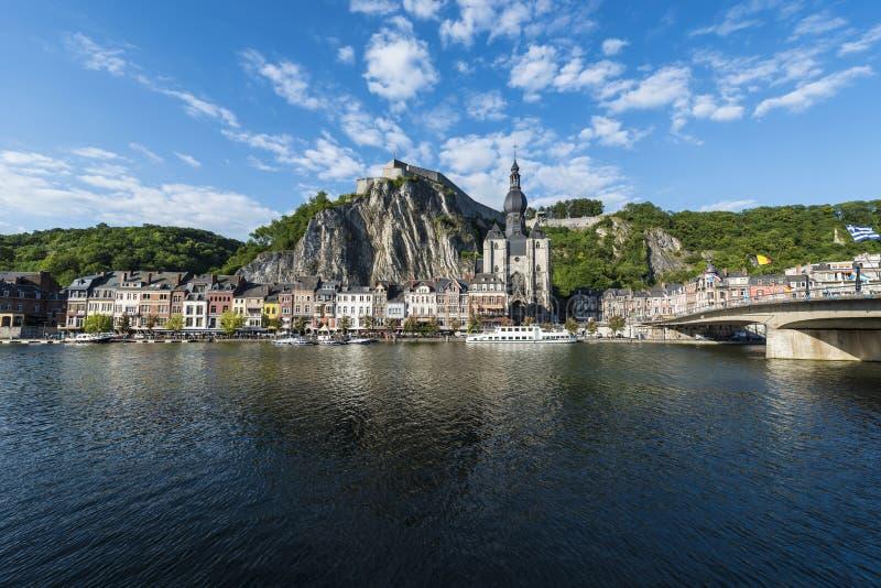 Download Chiesa Di Notre-Dame In Dinant, Belgio Fotografia Editoriale - Immagine di cityscape, vecchio: 55357242