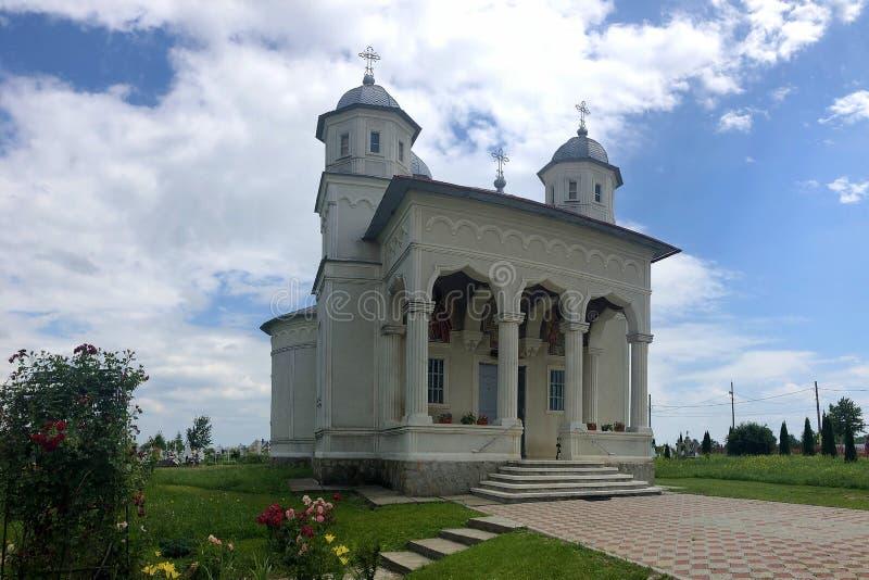 Chiesa di Ortodox, dal distretto di Neamt, la Romania fotografia stock libera da diritti