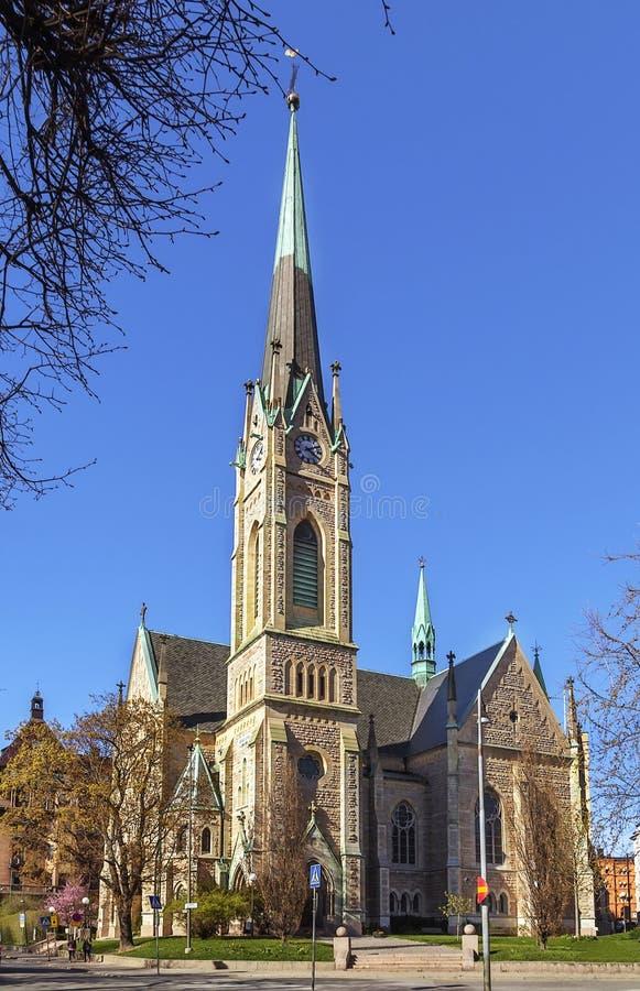 Chiesa di Oscars, Stoccolma fotografie stock
