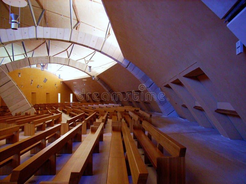 Chiesa di Padre Pio - Interno photo libre de droits