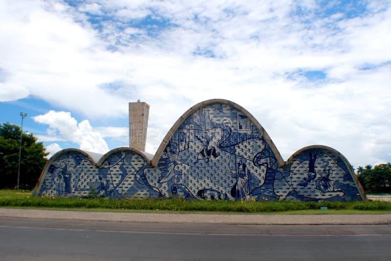 Chiesa di Pampulha fotografia stock libera da diritti