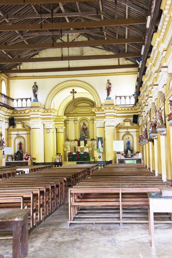 Chiesa di Pamunugama, Colombo, Sri Lanka fotografie stock libere da diritti