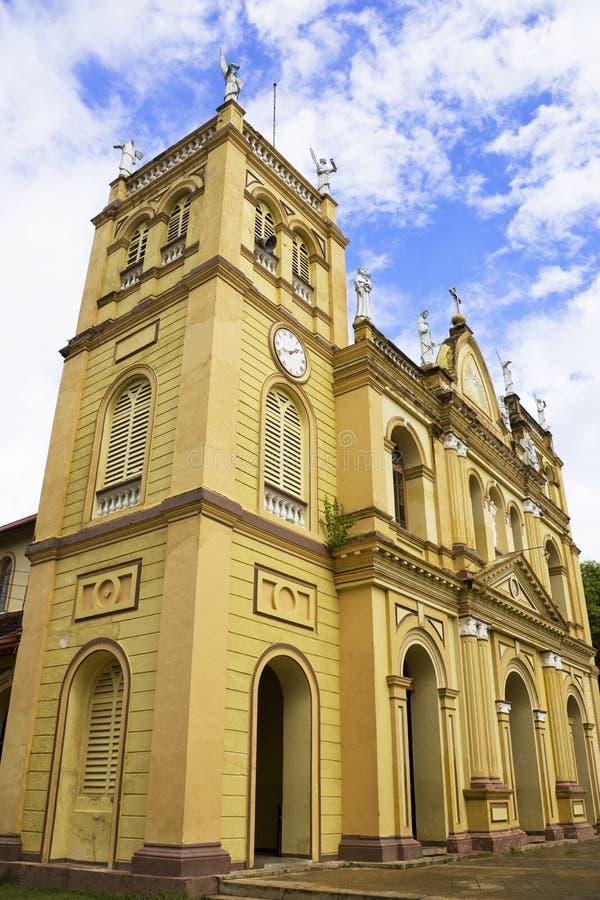 Chiesa di Pamunugama, Colombo, Sri Lanka fotografia stock libera da diritti