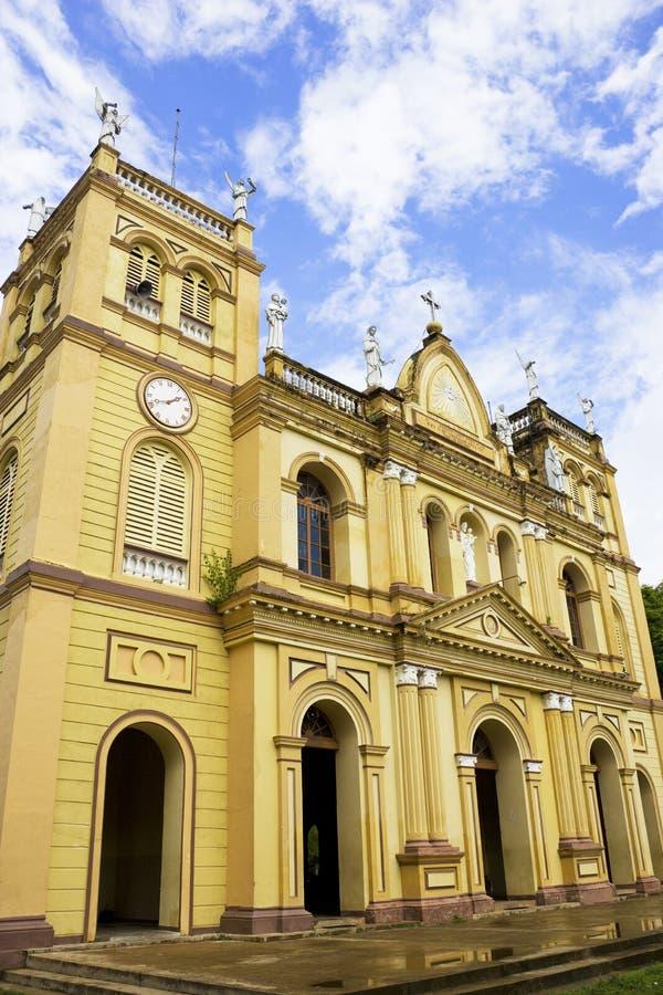 Chiesa di Pamunugama, Colombo, Sri Lanka fotografie stock