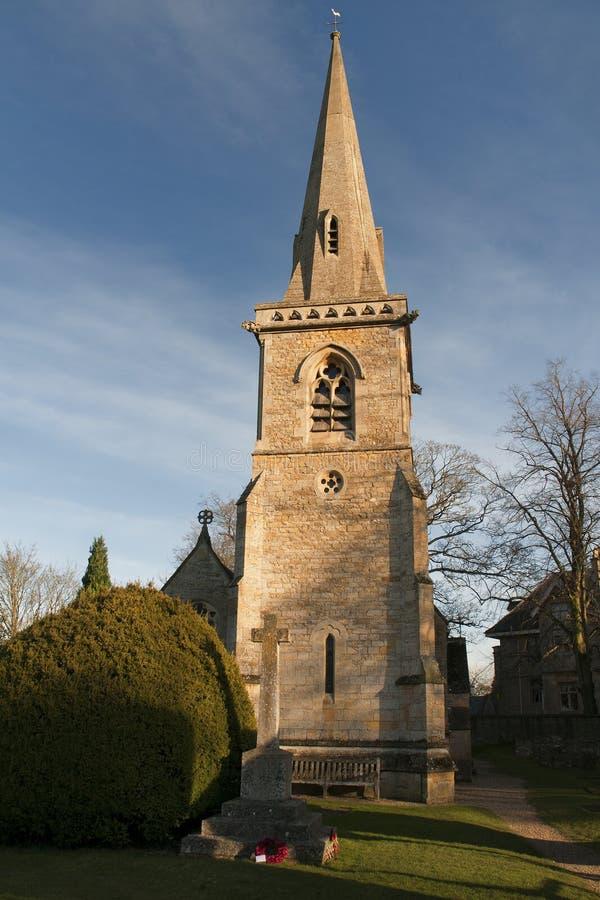 Chiesa di parrocchia fotografie stock libere da diritti