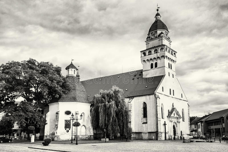 Chiesa di parrocchia dell'arcangelo Michael del san e cappella funerea della s fotografia stock libera da diritti