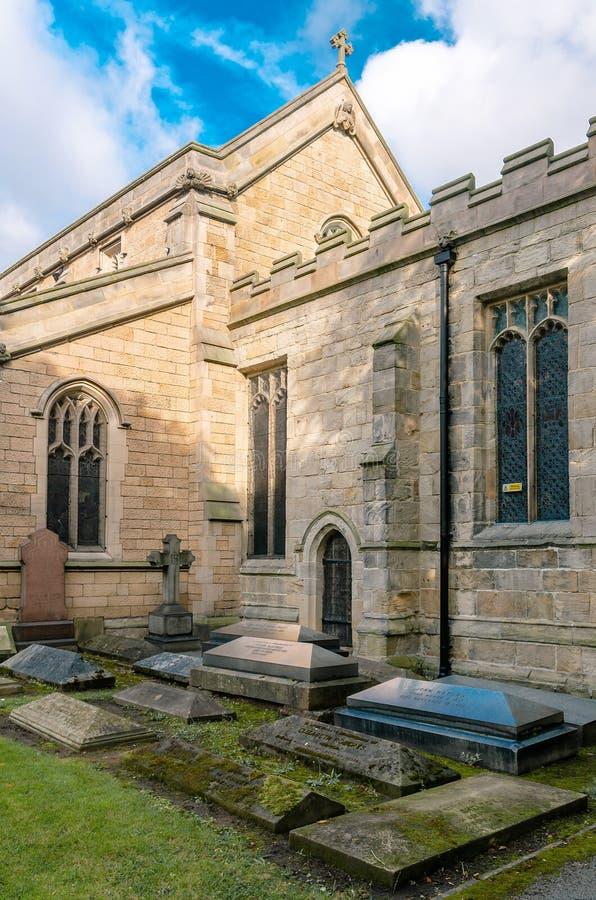 Chiesa di parrocchia di Beeston fotografie stock libere da diritti