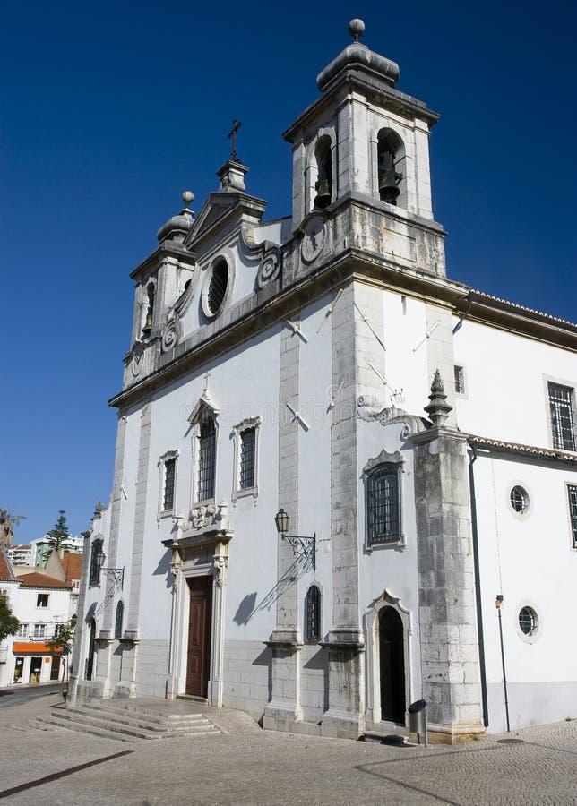 Chiesa di parrocchia di Oeiras fotografia stock libera da diritti