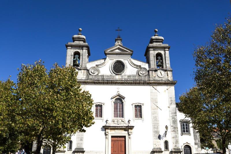 Chiesa di parrocchia di Oeiras fotografia stock