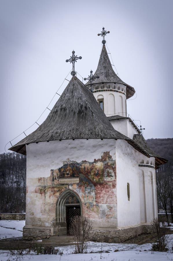 Chiesa di Patrauti fotografia stock libera da diritti