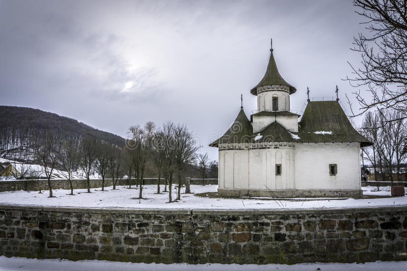 Chiesa di Patrauti fotografie stock