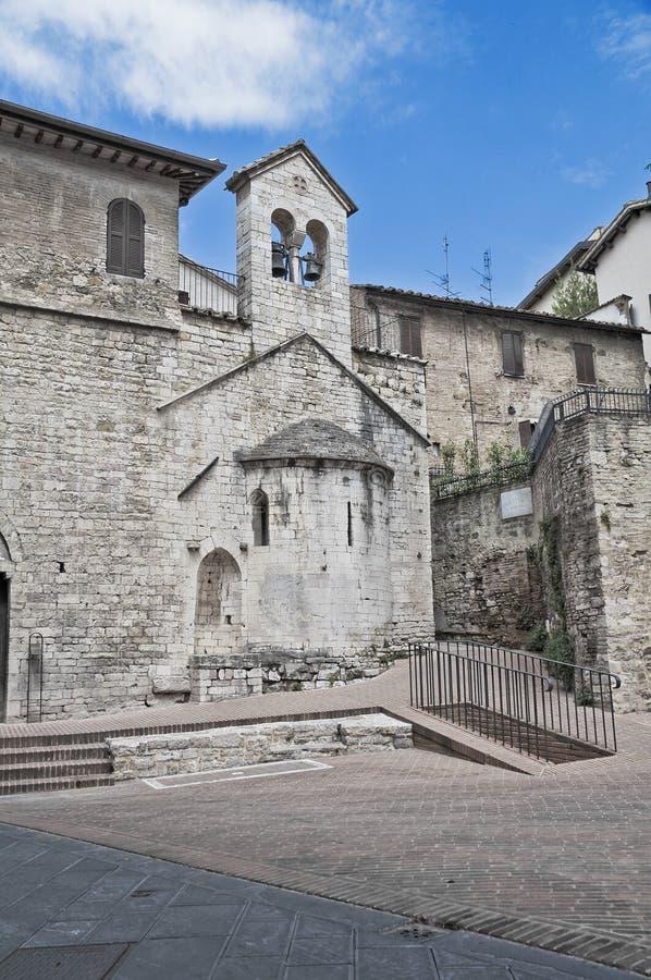 Chiesa di Perugia. L'Umbria. fotografia stock