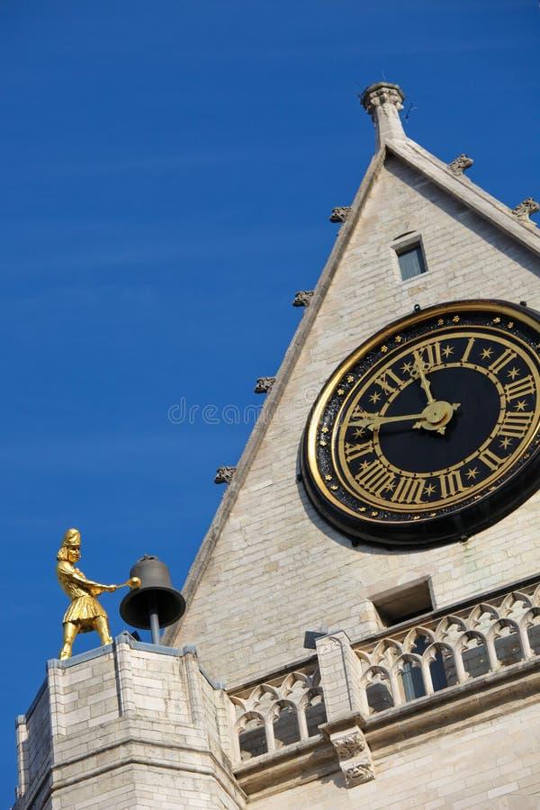 Chiesa di Peters del san a Lovanio immagine stock libera da diritti