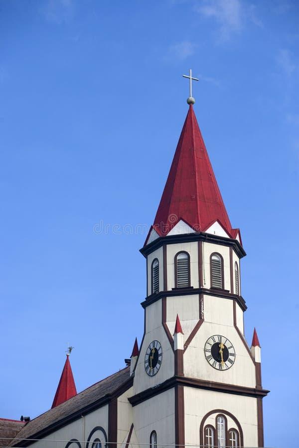 Chiesa di Puerto Varas immagini stock
