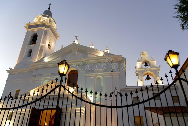 Chiesa di Recoleta immagini stock libere da diritti