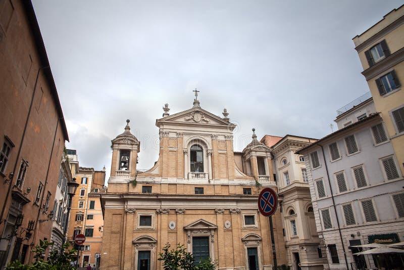 Chiesa di Roma barrocco, Italia immagini stock libere da diritti
