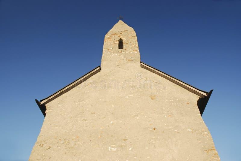 Chiesa di Romanesque immagini stock libere da diritti